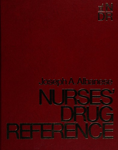 Nurses' Drug Reference