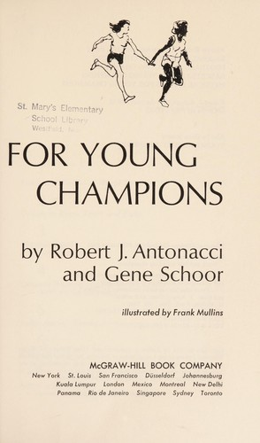 Track and Field for Young Champions,