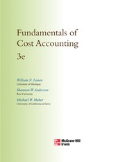 Fundamentals Of Cost Accounting PDF Download