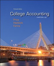 College Accounting: Chapters 1-30 PDF Download