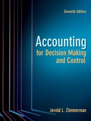 Accounting For Decision Making And Control PDF Download