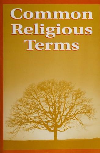 Common Religious Terms