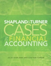 Shapland & Turner: Cases In Financial Accounting PDF Download