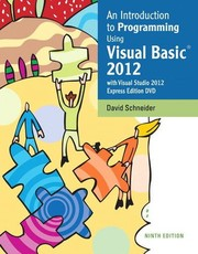 An Introduction To Programming Using Visual Basic 2012: With Microsoft Visual Studio 2012 Express Editions DVD PDF Download
