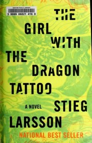 Book Cover: 'The Girl With the Dragon Tattoo' by Stieg Larsson