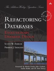 Refactoring Databases Evolutionary Database Design PDF Download