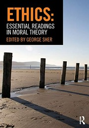 Sher, George Ethics: Essential Readings in Moral Theory