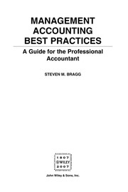 Management Accounting Best Practices: A Guide For The Professional Accountant PDF Download
