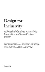 Design For Inclusivity: A Practical Guide To Accessible, Innovative And User-Centred Design PDF Download