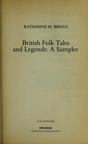 British Folk Tales and Legends: A Sampler