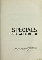 Book Cover: 'Specials' by Westerfeld, Scott