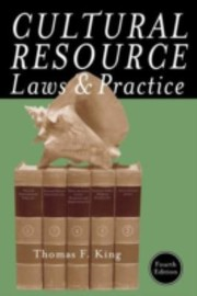 Cultural Resource Laws And Practice PDF Download