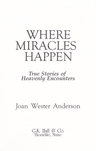 Where Miracles Happen