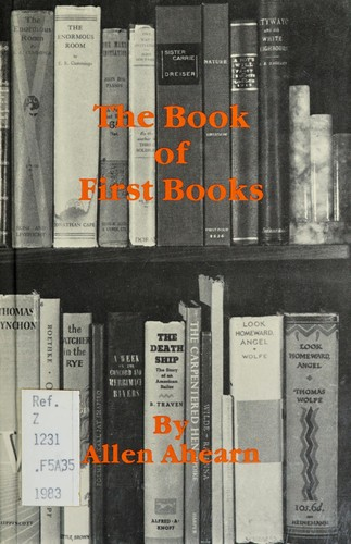 The Book of First Books
