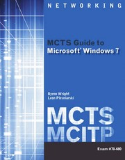 MCTS Guide To Microsoft Windows 7 PDF Download