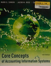 Core Concepts Of Accounting Information Systems PDF Download