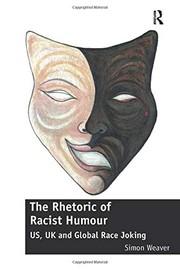 RHETORIC OF RACIST HUMOUR : us, uk and global race joking. cover image