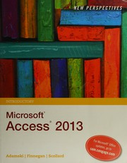 New Perspectives [On] Microsoft Office Access 2013: Introductory PDF Download