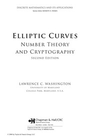 Elliptic Curves: Theory And Cryptography PDF Download