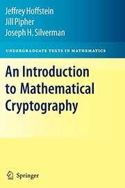 An Introduction To Mathematical Cryptography PDF Download