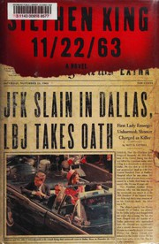 Book Cover: '11/22/63' by Stephen King