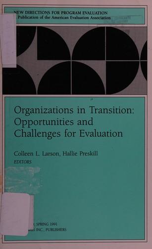 Organizations in Transition
