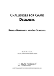 Challenges For Game Designers PDF Download
