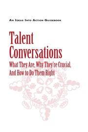 Talent conversations