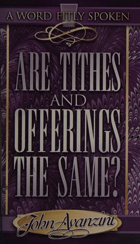 Are Tithes and Offerings the Same?