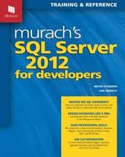 Murach's SQL Server 2012 For Developers PDF Download
