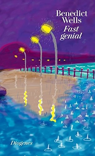 """Book cover of """"Fast Genial"""" by Benedict Wells"""