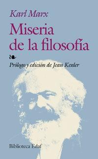 Miseria de La Filosofia