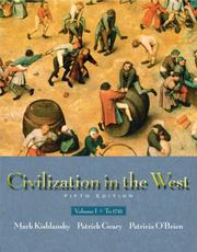 Cover of: Civilization in the West, Vol. 1