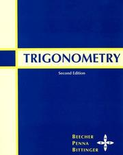 Cover of: Trigonometry (2nd Edition)