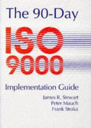 Cover of: 90 Day ISO 9000 Implementation Guide