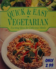 Quick and Easy Vegetarian Exciting Ideas F