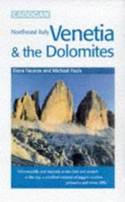 Cover of: Venetia & the Dolomites