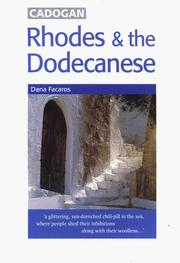 Cover of: Rhodes & the Dodecanese