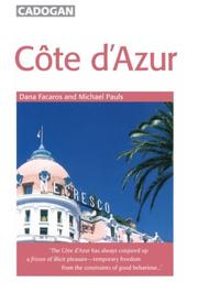Cover of: Cote d'Azur