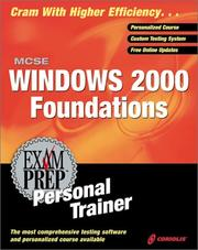 Cover of: MCSE Windows 2000 Foundations Personal Trainer