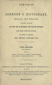 Companion to Johnson's Dictionary