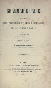 Grammaire palie