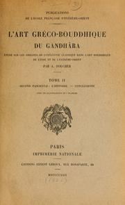 L' art gréco-bouddhique du Gandhâra