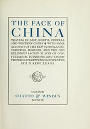 The face of China