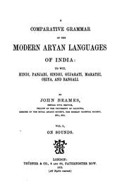 A Comparative Grammar of the Modern Aryan Languages of India: To Wit, Hindi, Panjabi, Sindhi ..