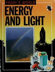 Cover of: Energy and light