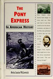 The Pony express in American history