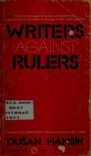 Writers against rulers