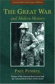 The Great War and modern memory /