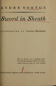 Cover of: Sword in sheath: a novel